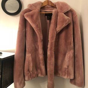 Victoria's Secret  Pimpin Pink Faux Fur Coat